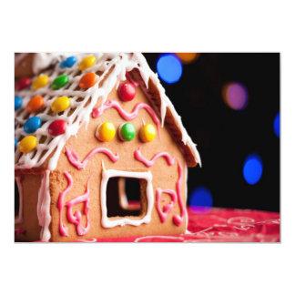 """Casa del caramelo invitación 5"""" x 7"""""""