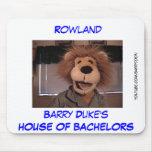 Casa del cojín de ratón de Rowland de los solteros Tapetes De Ratones