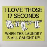 Casa del día del lavadero que limpia la muestra di posters
