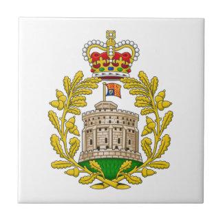 Casa del escudo de armas real de Windsor Tejas Cerámicas