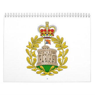 Casa del escudo de armas real de Windsor Calendarios De Pared