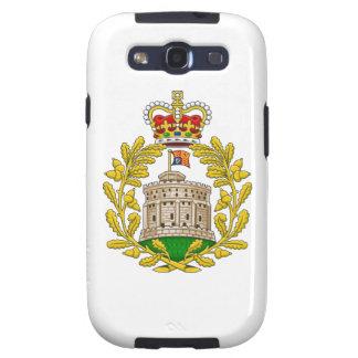 Casa del escudo de armas real de Windsor Galaxy S3 Coberturas