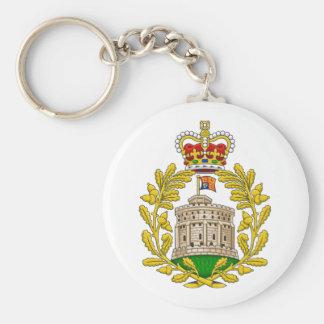 Casa del escudo de armas real de Windsor Llavero Redondo Tipo Pin