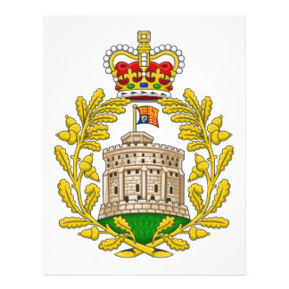 Casa del escudo de armas real de Windsor Membrete