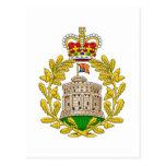 Casa del escudo de armas real de Windsor Postales