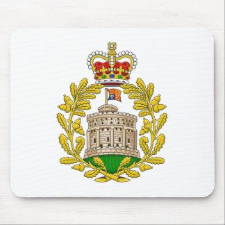 Casa del escudo de armas real de Windsor Tapete De Ratón