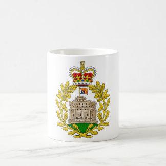 Casa del escudo de armas real de Windsor Taza