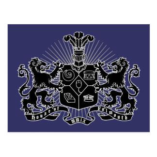 Casa del escudo de Falmouth Tarjetas Postales