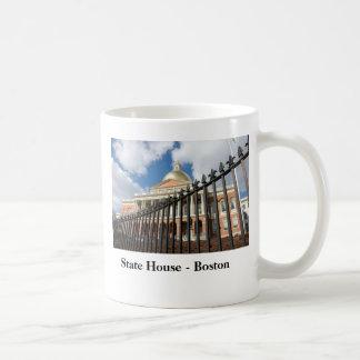 Casa del estado de Massachusetts - Boston Taza