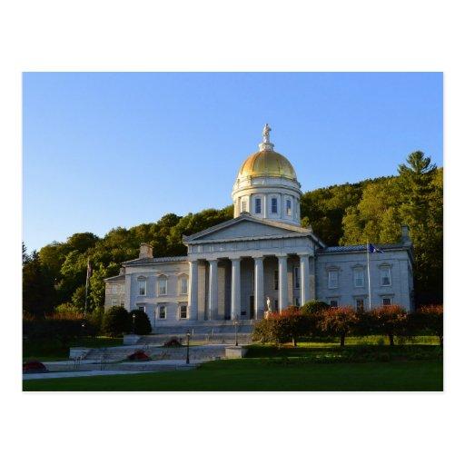 Casa del estado de Vermont, Montpelier Postales