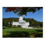 Casa del estado de Vermont Tarjetas Postales