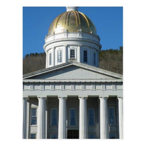 Casa del estado tarjetas postales