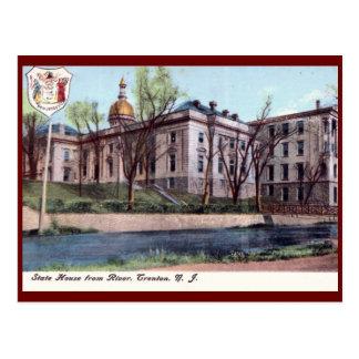 Casa del estado, Trenton, New Jersey Tarjetas Postales