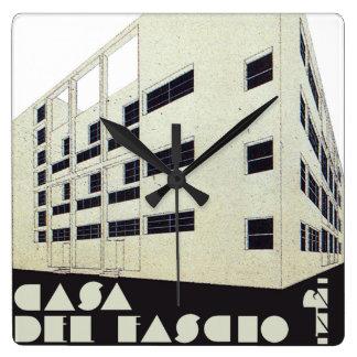 CASA DEL FASCIO CLOCK