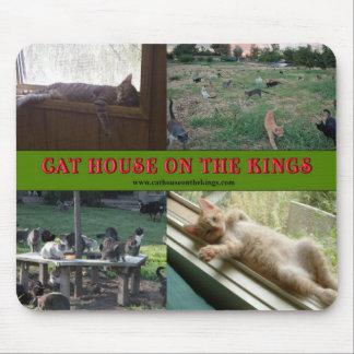 Casa del gato en los reyes Mousepads Alfombrilla De Raton