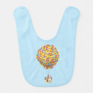Casa del globo de Disney Pixar ENCIMA de la Baberos Para Bebé