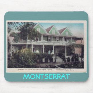 Casa del gobierno.  MONTSERRAT Tapete De Raton