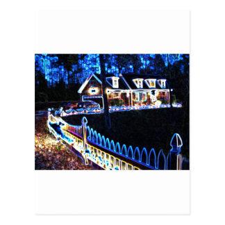 Casa del navidad de Carver Tarjeta Postal
