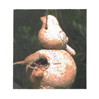 Casa del pájaro del Wren de casa Libreta Para Notas