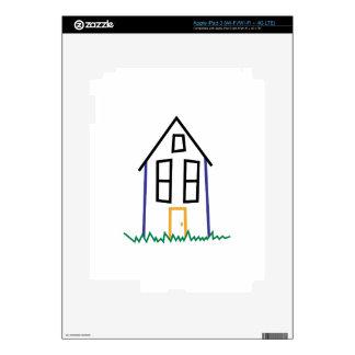 Casa del palillo pegatina skin para iPad 3
