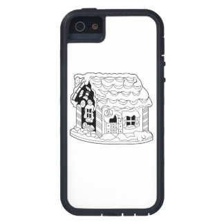 Casa del pan del jengibre iPhone 5 Case-Mate cobertura