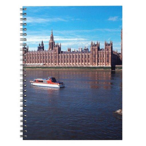Casa del parlamento, Londres Cuaderno