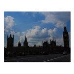 Casa del parlamento y de Big Ben Postales