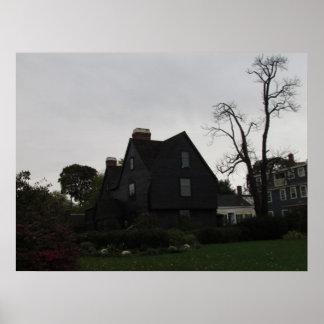 Casa del poster de siete aguilones
