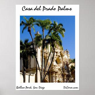 Casa del Prado Palms Poster