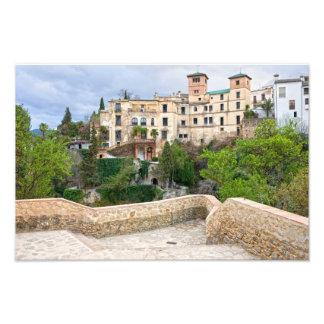 Casa del rey del Moorish en Ronda Fotografía