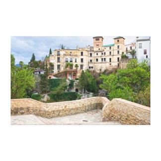 Casa del rey del Moorish en Ronda Impresiones En Lienzo Estiradas