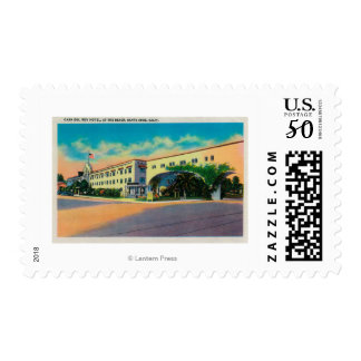 Casa Del Rey Hotel at the Beach, Santa Cruz Postage