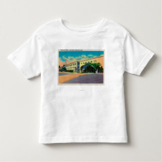 Casa Del Rey Hotel at the Beach, Santa Cruz Toddler T-shirt