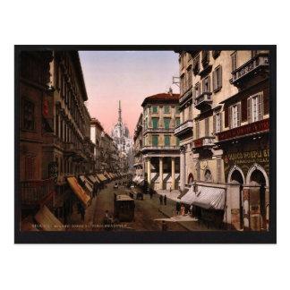 Casa del vencedor Manuel vintage Pho de Milano I Postales