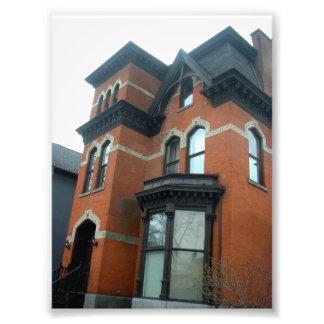 Casa del Victorian en el búfalo NY de Allentown Fotografias