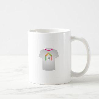 Casa del vino de la plantilla de la camiseta taza clásica