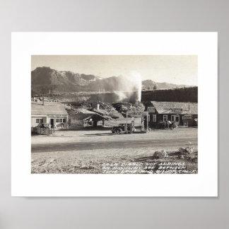 Casa Diablo, Bishop, California, Vintage Poster