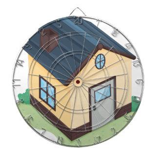 casa tablero de dardos