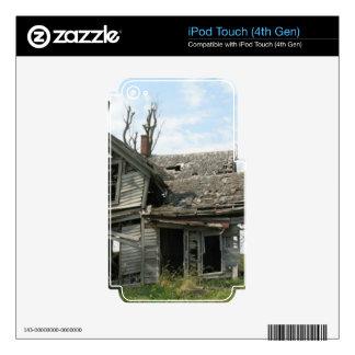 Casa dilapidada de la granja iPod touch 4G skin