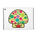 casa divertida de la seta del toadstool del kawaii iPad mini cobertura