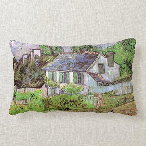 Casa en Auvers, Vincent van Gogh Cojín