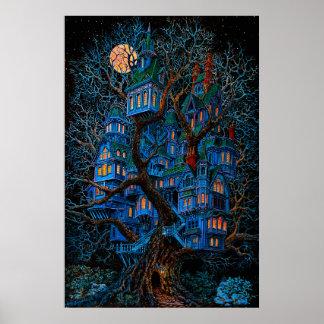 Casa en el árbol impresiones
