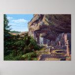 Casa en el árbol Spruce del Mesa Verde de Cortez C Poster