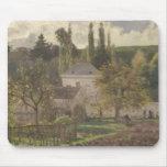 Casa en la ermita, Pontoise, 1873 Mouse Pads