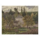 Casa en la ermita, Pontoise, 1873 Póster