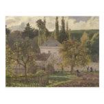 Casa en la ermita, Pontoise, 1873 Tarjetas Postales