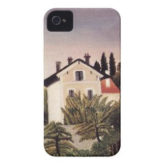 Casa en las cercanías de París de Henri Rousseau Case-Mate iPhone 4 Cobertura