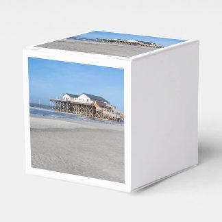 Casa en los zancos en la playa de San Pedro Ording Cajas Para Detalles De Boda