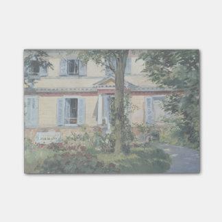 Casa en Rueil de Eduardo Manet Post-it Notas