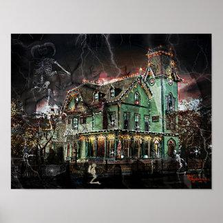 Casa encantada #1 del Victorian Impresiones